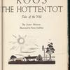 Koos, the Hottentot