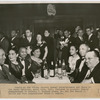 Guests at the Vulcan Society Annual Entertainment and Dance at the Savoy Ballroom, including Deputy Housing Commisssioner J. Raymond Jones, Parole Commissioner Samuel J. Battle and Fire Commissioner Frank J. Quayle