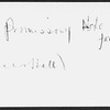 Chapman and Hall. Promissory notes for 1000 [pounds] for Dickens' Great expectations