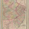 Township map of New Jersey and Eastern Pennsylvania