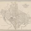 Map of the city of Washington