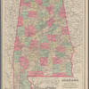 Map of the state of Alabama: to accompany Ross A. Smith's Alabama State gazetteer and business directory, 1884-85