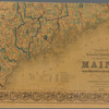 Colton's railroad & township map of the state of Maine: with portions of New Hampshire, New Brunswick & Canada