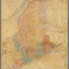 Map of the state of Maine: compiled from the most authentic surveys, explorations and authorities, shewing the boundaries of the state and parts of the adjacent British provinces according to the provisional treaty of peace in 1782 and the definitive treaty in 1783