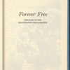 Forever Free: the story of the Emancipation Proclamation