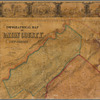 Topographical map of Union County, New Jersey