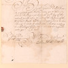 Letter from Matthias Nicolls to Elbert Elberts