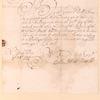 Letter from Matthias Nicolls to Elbert Elberts