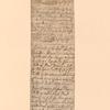 Receipts signed by Richard Nicholls