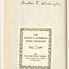 Booker T. Washington: educator of hand, head, and heart
