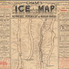 Chase's ice map, showing location, capacity, ownership & cutting surface of the Kennebec, Penobscot & Hudson rivers