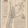 Map showing location of lands, rail road, coaching, & boat routes of the Pelham Manor & Huguenot Heights Association
