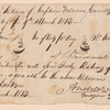 Provision return of Captain William Carroll's company