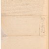Order, Andrew Jackson to Isaac Roberts