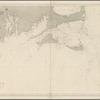 Océan Atlantique nord, côtes des États Unis, des bancs de Nantucket au sound de l'Ile Block: d'apres les cartes de l'United States Coast Survey