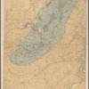 Map of the extinct Lake Passaic: showing its outline, the position of the present shore features and the deformation which its shores have suffered
