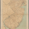 Progress map of the state of New Jersey, 1880