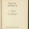 Opening Africa