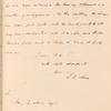 Louis McLane to William B. Lewis