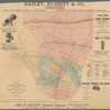 Map of the Oranges, New Jersey: compiled expressly for Baldwin's Directory of the Oranges and the township of Essex Co.
