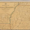 Post route map of the states of Alabama and Mississippi: with adjacent parts of Florida, Georgia, Tennessee, Arkansas and Louisiana ; designed and constructed under the orders of Postmaster General Marshall Jewell and Second Assistant Postmaster General Jas. N. Tyner