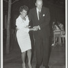 Ruth Mitchell with unidentified man (dancing)
