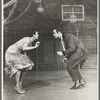 Chita Rivera and Ken LeRoy in the stage production West Side Story