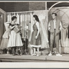 Chita Rivera, Carol Lawrence, and Larry Kert in the stage production West Side Story