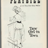 Playbill for New Girl in Town