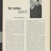 Playbill of September 26, 1957