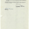 Peter Gennaro's contract for the original production of West Side Story