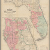 Florida Land and Improvement Company: Hamilton Disston's purchase : 4,000,000 acres : showing area in which lands have been selected