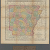 A new map of Arkansas with its counties, towns, post offices, &c.