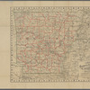 Cram's rail road & township map of Arkansas