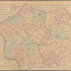 Topographical map of Hunterdon Co., New Jersey