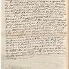 Andrew Jackson memorandum to William B. Lewis