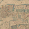 Topographical map of New York City, County, and vicinity: showing old farm lines &c.