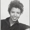 Publicity photograph of Lorraine Hansberry