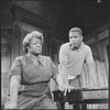 Sidney Poitier and Claudia McNeil in the stage production  Raisin in the Sun