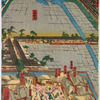 Detailed Print of Yokohama Hon-chô and the Miyozaki Pleasure Quarter