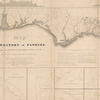 Map of the territory of Florida. from its northern boundary to Lat: 27°, 30' N, connected with the delta of the Mississippi