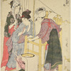 Women boiling cocoons and reeling the silk