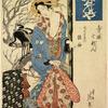 The oiran Tagasode of Daimonjiya