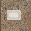 "Manuscript bookplate of ""The Rev.d Hubert Thos. Parker"", front free endpaper (verso)"