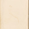 """Pencil drawing of a tree and landscape, signed """"M.A.F., Feb.y 12th 1821"""", leaf 11 (recto)"""