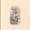 Mounted pencil drawing of trees, leaf 30 (recto)