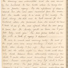 """Six-page manuscript extract from """"Recollections of an eventful life,"""" by a soldier, 1824, Glasgow; with a mounted pencil drawing of a smiling old man on leaf 74 (verso), leaf 72 (recto)-leaf 74 (verso)"""