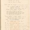 Manuscript listing of five epitaphs, leaf 75 (recto)