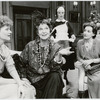 Judith Ivey, Geraldine Page, Nicola Cavendish and Patricia Conolly in the stage production Blithe Spirit