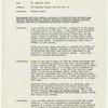 Lorraine Hansberry's typewritten resume